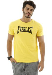 Camiseta Everlast Escrito Central