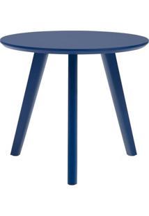 Mesa Lateral Paint Alta Azul Acetinado 65 Cm (Alt) - 50943 - Sun House