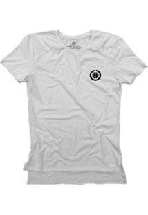 Camiseta Longline Stoned Gold Basic Masculina - Masculino-Branco