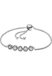 Bracelete Ajustavel Circulo Brilhante