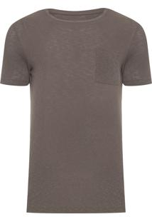 Camiseta Masculina Crepe - Verde