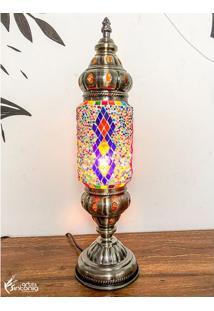 Abajur Decorativo Mosaico Color - Claro
