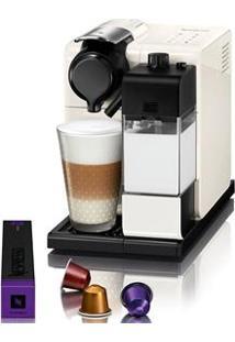 Cafeteira Expresso Nespresso Lattissima 19 Bar Branca Com Kit 16 Cápsulas De Boas Vindas