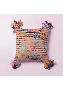 Capa De Almofada Cananor Cor: Multicolorido - Tamanho: Único