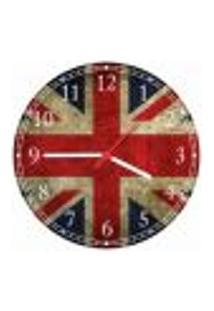 Relógio De Parede Bandeira Da Inglaterra Países Decorações