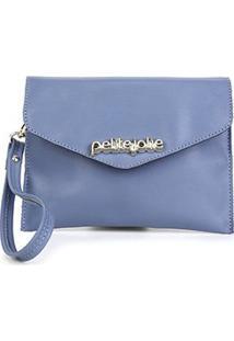 Pochete Petite Jolie Body Belt Feminina - Feminino-Azul