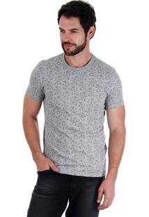 Camiseta Masculina Svk - Cinza