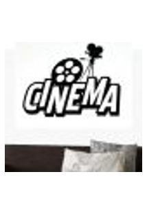 Adesivo De Parede Cinema - Eg 74X98Cm