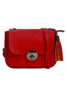Bolsa Real Arte Cc6 Vermelha
