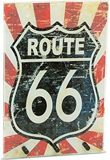 Porta Chaves Route 66 Vintage Vermelho