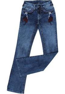 Calça Jeans Tassa Gold Boot Cut Feminina - Feminino