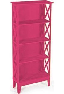 Cristaleira Colonial 2 Portas Atz 81 - Rosa