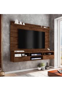 Painel Para Tv 72 Polegadas Antares Rustic 180 Cm