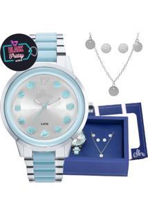 Relógio Digital Analogico Clock feminino   Shoelover 9a74637f46