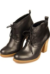 Ankle Boot Agatha Levie 377 Preto