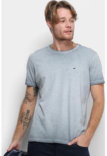 Camiseta Ellus Degradê Retrocolor Class Masculina - Masculino-Chumbo