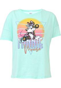 Blusa Cativa Disney Minnie Mouse Verde