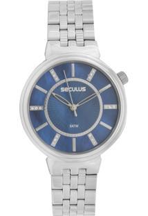 Relógio Seculus 20625L0Svns3 Prata