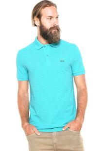Camisa Polo Lacoste Reta Verde