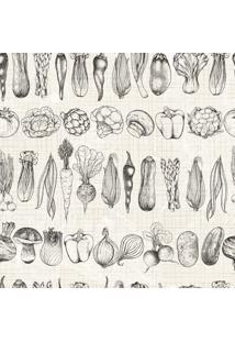 Papel De Parede Adesivo Legumes