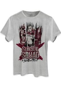 Camiseta Dc Comics Bandup! Esquadrão Suicida We Trust - Masculino