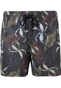 Shorts John John Autumn Beachwear Estampado Masculino (Estampado, 46)
