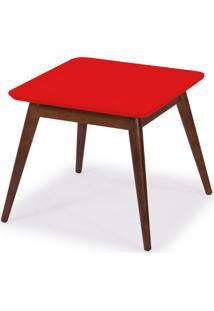 Mesa De Centro Basic Vermelho Maxima