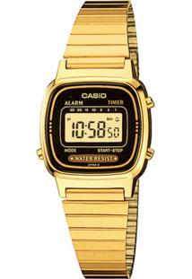 f1c4738ea4b Relógio Digital Casio Vidro feminino