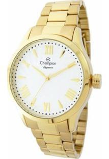 Relógio Champion Cn27796H - Feminino-Dourado
