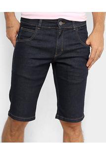 Bermuda Jeans Reta Rock & Soda Masculina - Masculino