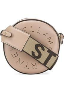 Stella Mccartney Bolsa Mini Com Logo - Verde