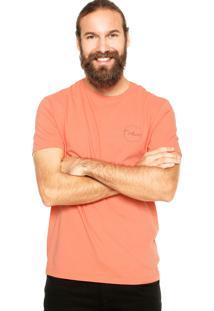 Camiseta Calvin Klein Estampada Coral