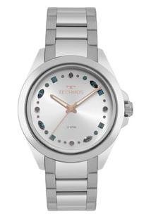 Relógio Technos Feminino Crystal Prata 203Aab/1K 203Aab/1K