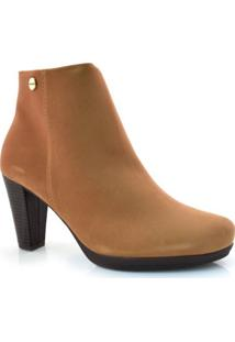 Ankle Boots De Salto Alto Modare