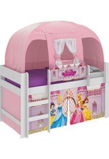 Cama Princesas Disney Play - 8A C/ Barraca C/3 Vol