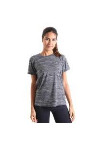 Camiseta Basic Mescla - Cinza - Líquido