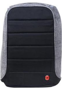 Mochila Swissland Anti Furto Ys28055 Para Notebook Impermeável Com Usb - Unissex