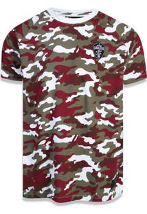 Camiseta New Era Raglan Cleveland Cavaliers Bege