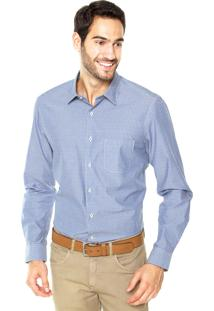 Camisa Richards Geo Azul