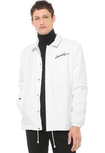 Jaqueta Lacoste L!Ve Logo Branca