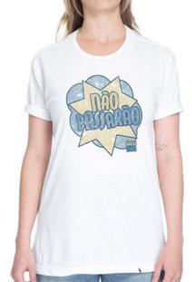 Não Passarão - Camiseta Basicona Unissex