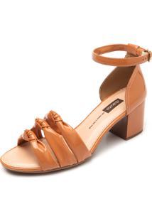 Sandália Dakota Nó Caramelo