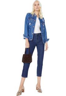 Calça Jeans Slim Basic