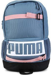 Mochila Puma Deck - Unissex-Azul Escuro