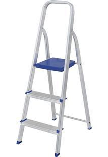 Escada Alumínio Mor 3 Degraus