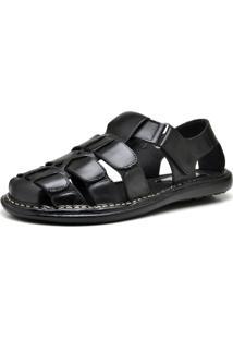Sandália Chinelo Ousy Shoes Clássicos Preto