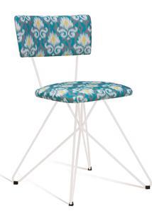Cadeira Butterfly 0019 Cinza E Verde Daf