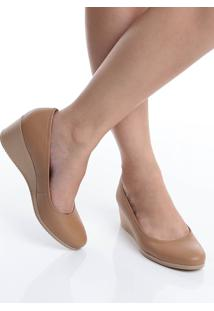 Sapato Anabela Conforto Usaflex