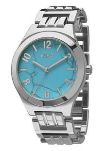 Relógio Euro Feminino Turquesa Eu2033Ah/3A Eu2033Ah/3A