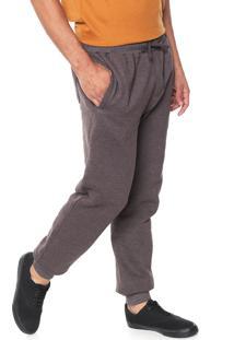 Calça Moletom Element Jogger Comfort Marrom